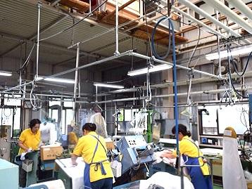 クリーニング工場